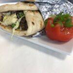 Homemade Lamb Kebab Naan