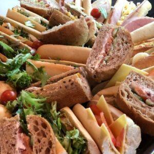 funeral caterers maidenhead sandwich platter